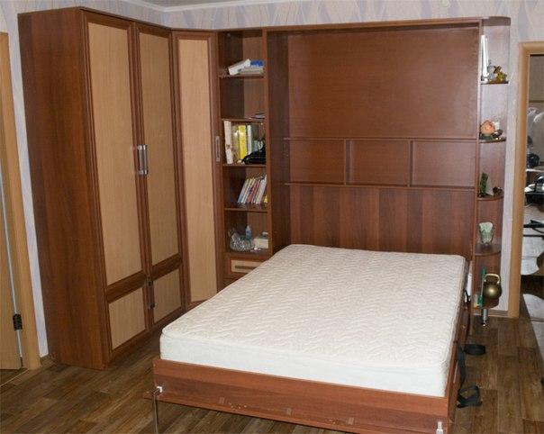 подъемные кровати и встроенные трансформер! диваном подъемные встроенные гостиной и Откидные